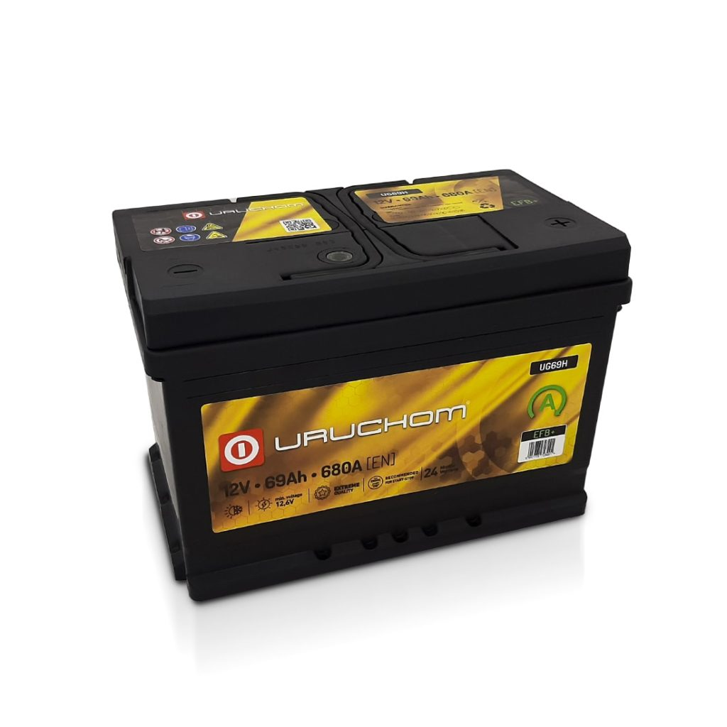 Akumulator Uruchom Gold EFB+